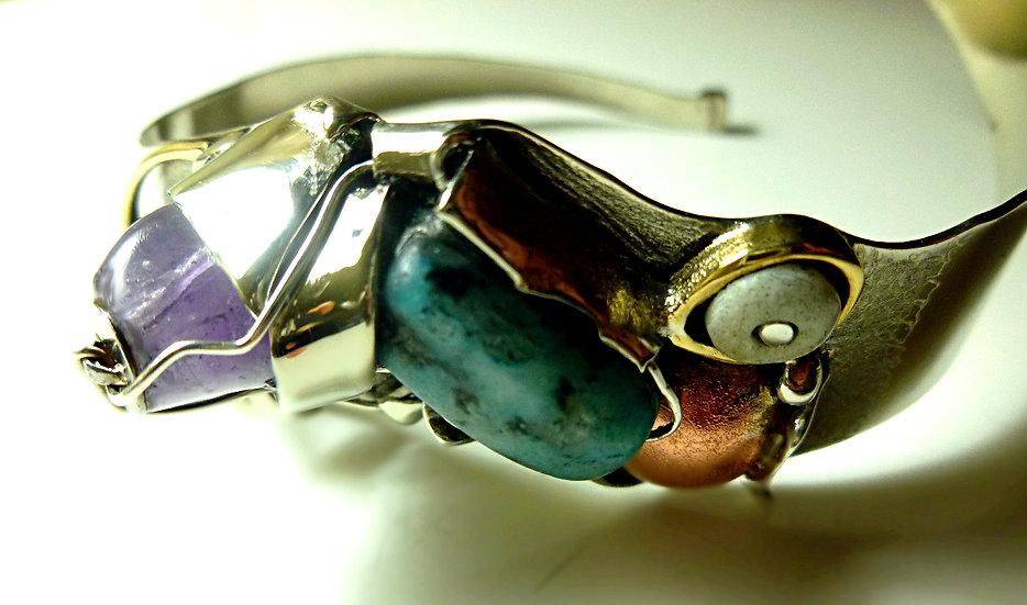 Unique Sculptural bracelet SOLD