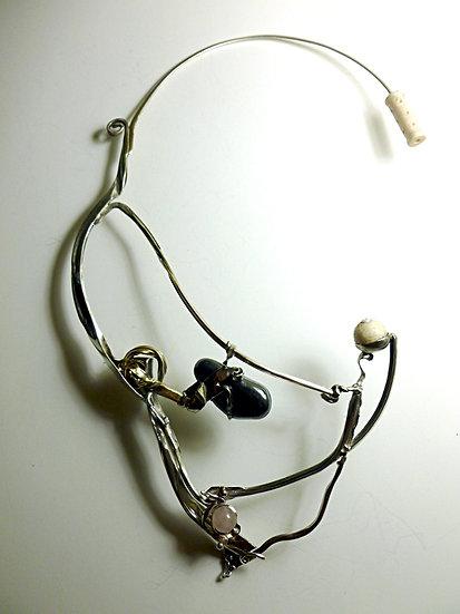 Unique Sculptural Necklace SOLD