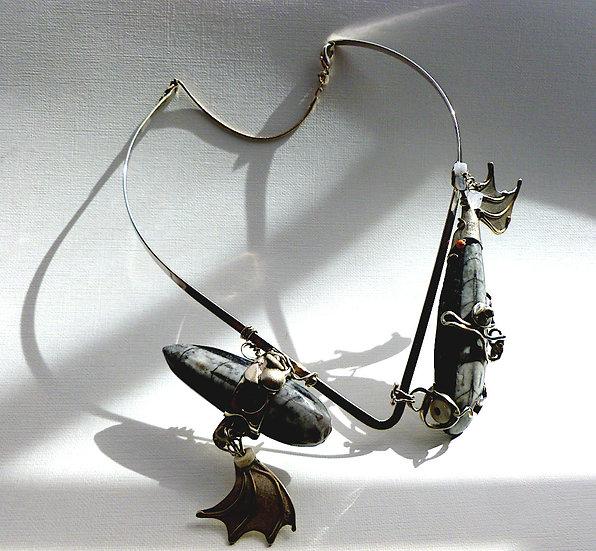 Unique Sculptural Necklace