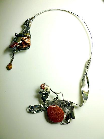 Unique Sculptural Necklace -SOLD