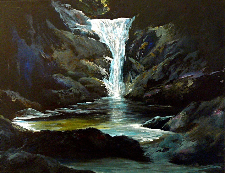 Waterfall, (Astral Projection Series)