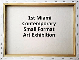 Contemporary Small Format Art exhibition