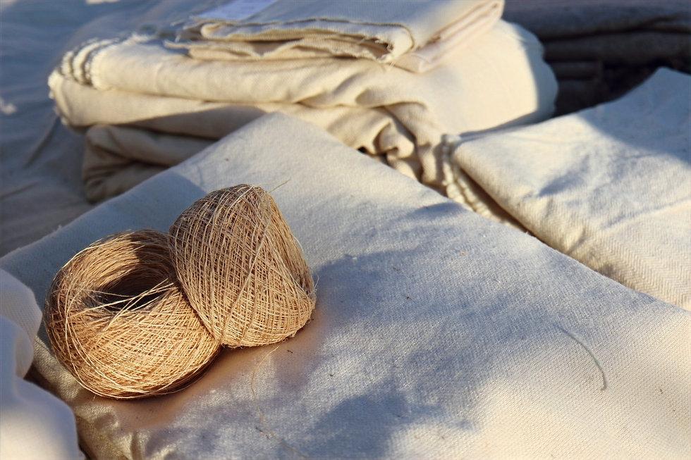 tissage français laine de pays et chanvre