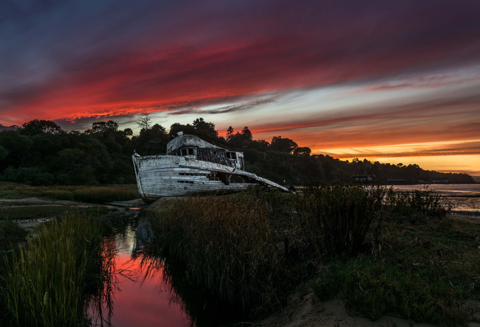 Inverness Shipwreck Sunset Two-5688.jpg
