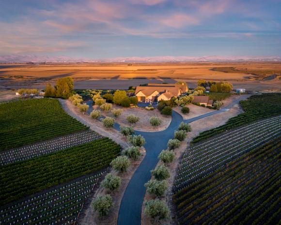 Rams Gate Winery Sunset Drone-1.jpg