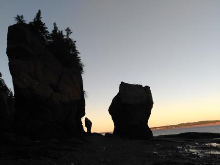 La légende de Hopewell Rocks