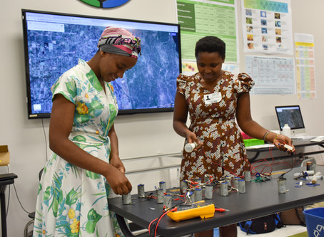 Innovative, young women bring electricity to their Kenyan village through green power project