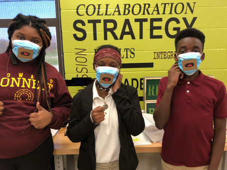 Innovative Howard Connect students transform face mask experience with micro:bit technology