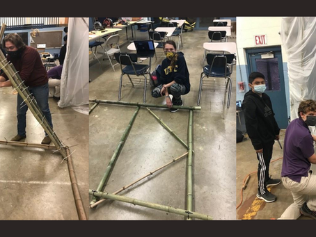 Harrison Bay Future Ready students incorporate sustainable bamboo PBL into hands-on learning