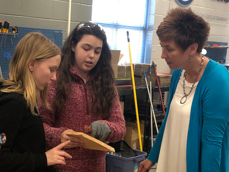 Hunter Middle School Spotlight: Connecting STEM Learning to Real World Experiences