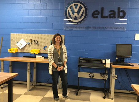 VW eLab & STEM Fellows Spotlight: Jennifer Ellis, Hixson Middle School