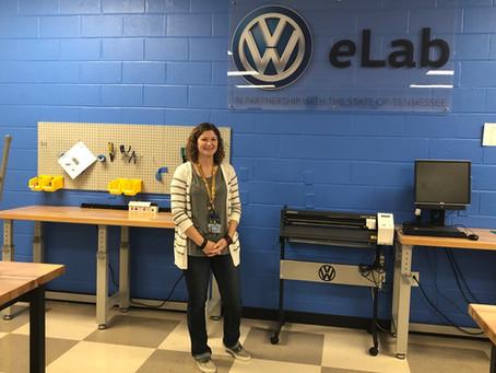 VW eLab & STEM Fellows Spotlight: Jennifer Ellis, Hixson Middle School