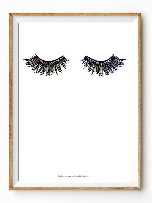 IN YOUR FACE / MULTICOLOR LASHES