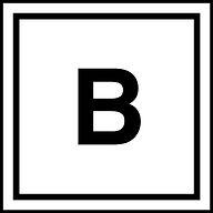 B står for BüroBüro men er også starten på Bedst!