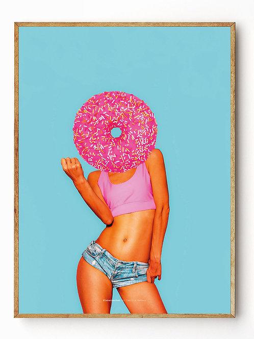Donut blue