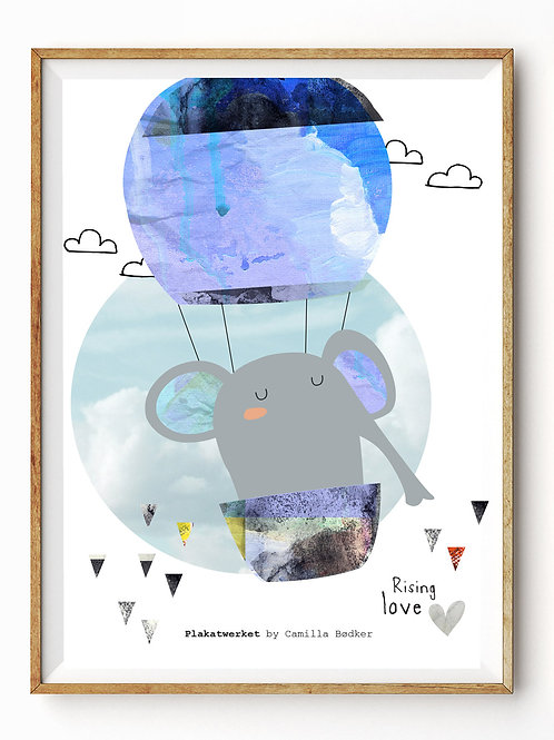 A Clear Blue Sky/Rising Love