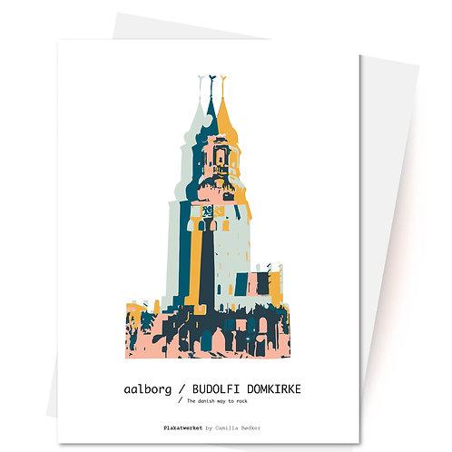 BUDOLFI KIRKEN - Kort og Kuvert Plakatwerket