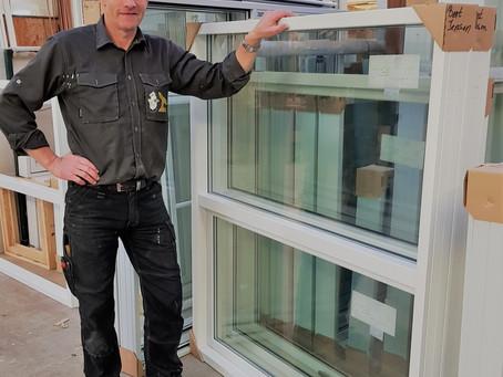 Lokalt producerede vinduer og døre