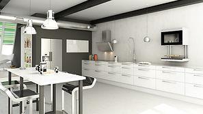 Flot og slidstærkt køkken i eksklusivt design