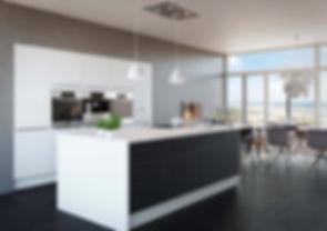 Moderne køkken fra Tage Laursen. www.tl-sunds.dk