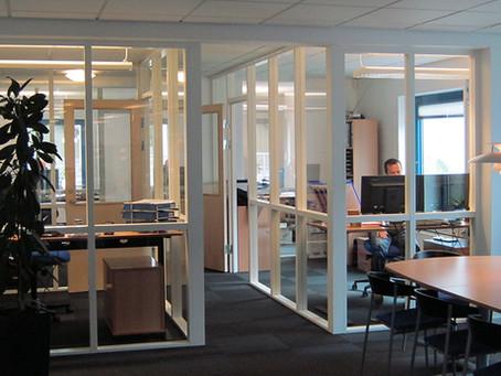Inddel dit kontor så der bliver plads til flere...