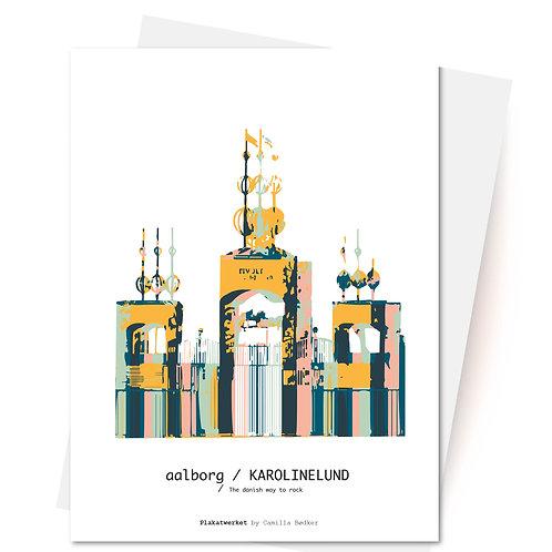 KAROLINELUND AALBORG - Kort og Kuvert fra Plakatwerket