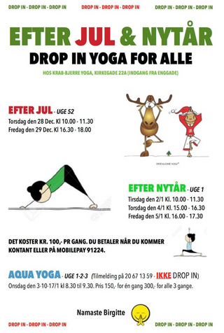 DROP IN YOGA