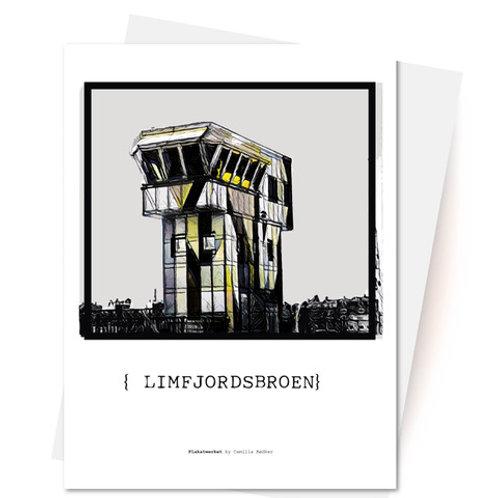 Limfjordsbroen Aalborg - Kort og Kuvert fra Plakatwerket