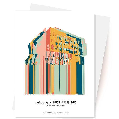 Musikkens Hus Aalborg - Kort & Kuvert fra Plakatwerket