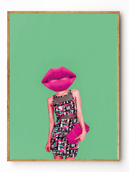 Hot Lips, green