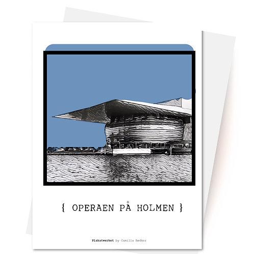 KØBENHAVN - en hyldest / Operaen på Holmen