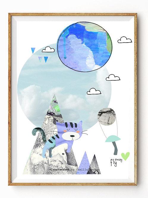 A Clear Blue Sky/Fly Away