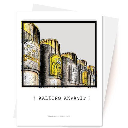 Aalborg Akvavit Kort & Kuvert fra Plakatwerket