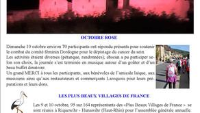 LA ROQUE INFOS Octobre 2021