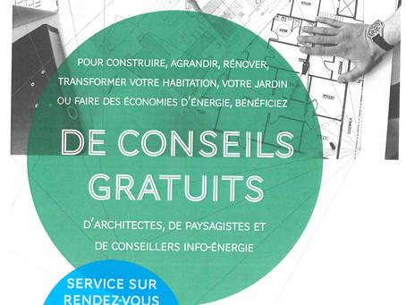 Permanence du Conseil d'Architecture, d'Urbanisme et de l'Environnement