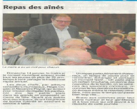 ARTICLE ESSOR - REPAS DES AÎNES