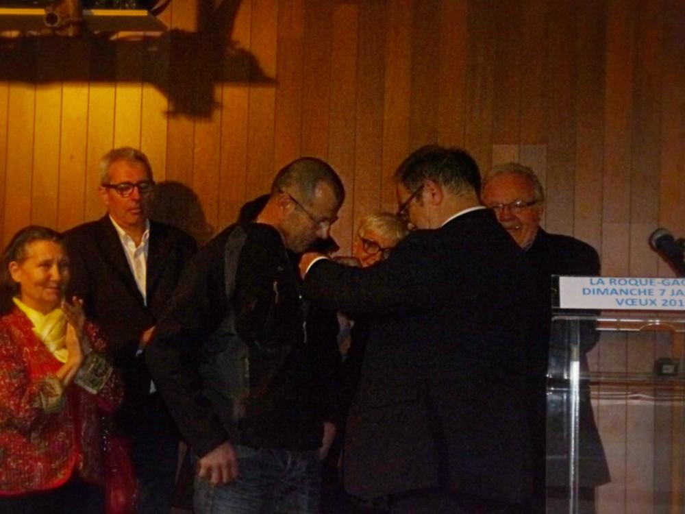 Remise de Médaille d'honneur Argent pour 20 années au service de la collectivité locale.