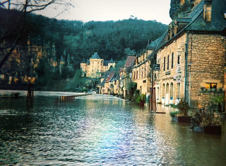 Inondation ce week-end à la Roque-Gageac