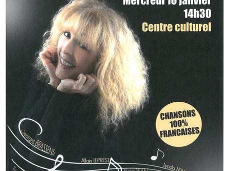 INVITATION SPECTACLE MUSICAL POUR LES AINES DE L'INTERCOMMUNALITE SARLAT-PERIGORD NOIR - 10 janv