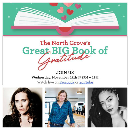 You're Invited to The Great Big Book of Gratitude