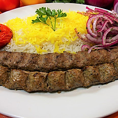 Beef Kabob With Rice