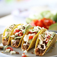 BBQ Pulled Beef Tacos