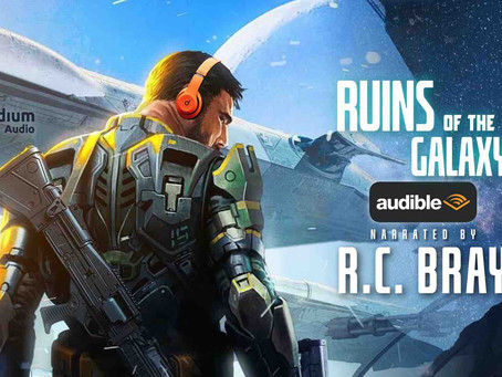 The Real Story Behind Ruins of the Galaxy Hitting Audible Today