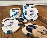R.C. Bray Signature Poker Chip Ruins of the Galaxy 3