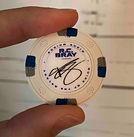 R.C. Bray Signature Poker Chip Ruins of the Galaxy 1
