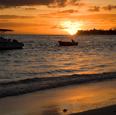 Coral Sands Beach Resort Sunset