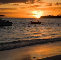 Coral Sands Beach Resort Sunset