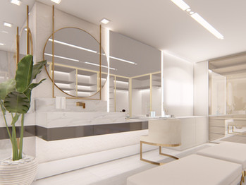 Banheiro Linear