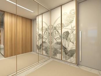 Espelhos e suas formas de utilização na arquitetura de interiores.