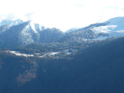 la neige tombe sur les sommets!!!